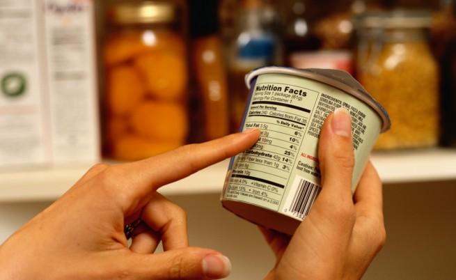 етикет храни