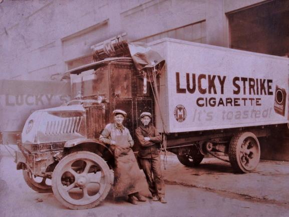 камион цигари