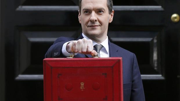 Британският финансов министър Джордж Озбърн
