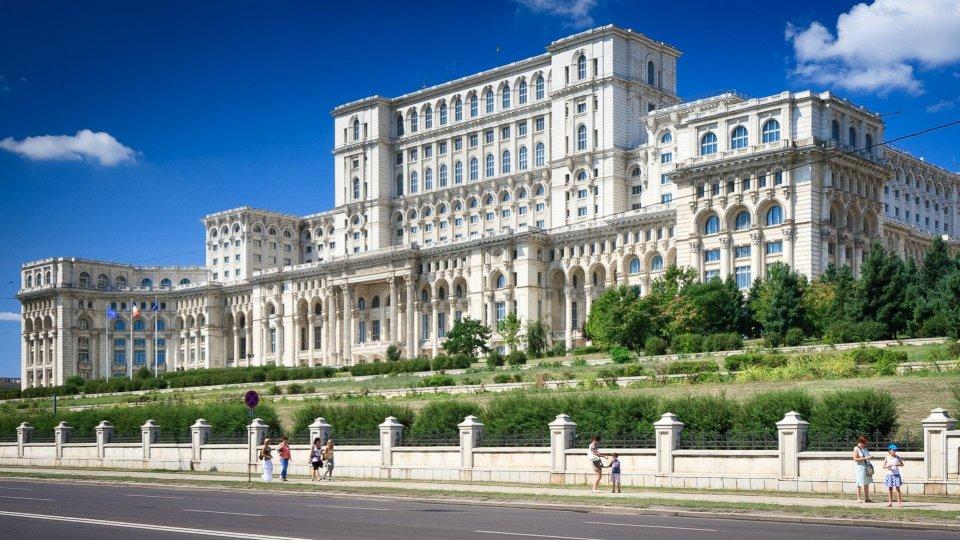 Румънския парламент