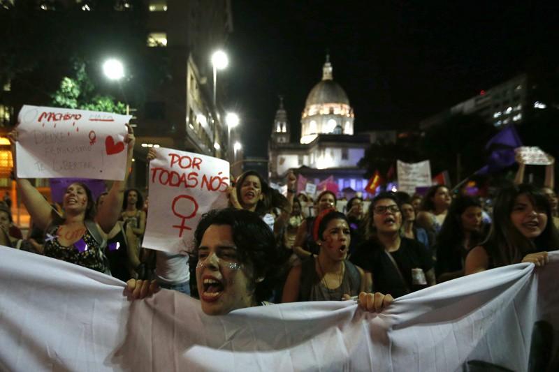 бразилки протест