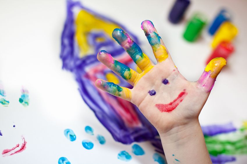 детска ръка