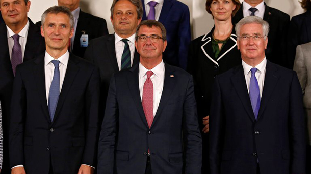 BELGIUM NATO DEFENSE MINISTERS MEETING