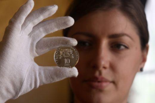 сребърна монета 10 лева 2016г.