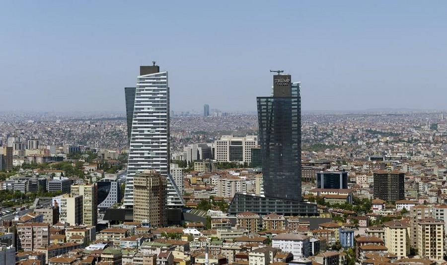 Кулите Тръмо в Истанбул