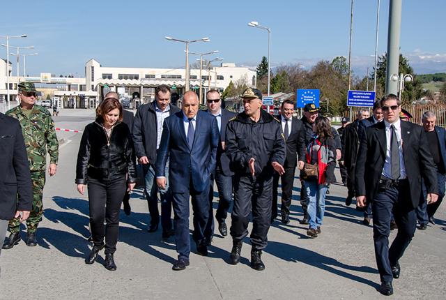 Борисов на границата