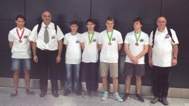Българския отбор по физика