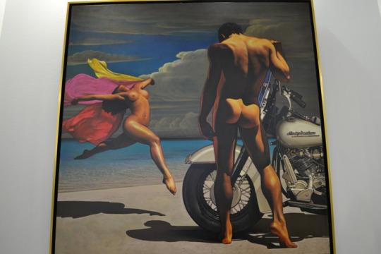 Една от картините на Андрей Лекарски