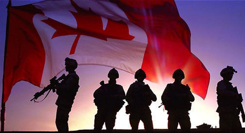 Канадски войници 1