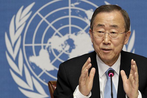 ООН Бан Ки-мун