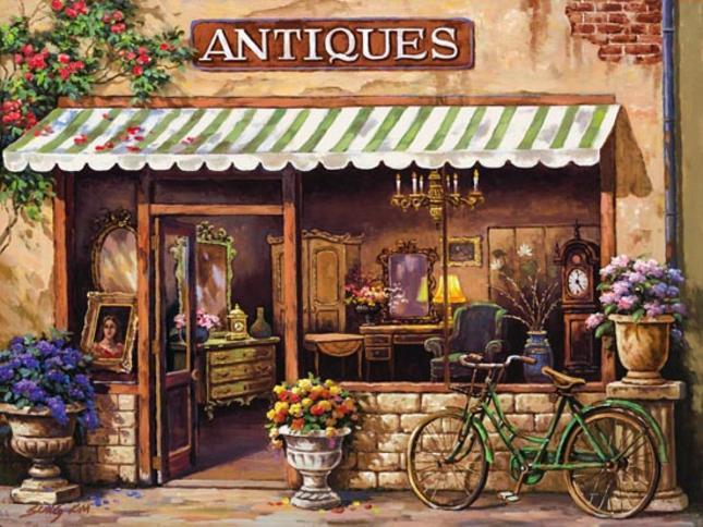 антикварен магазин