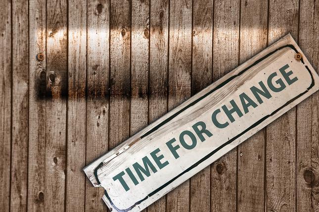 време за промяна