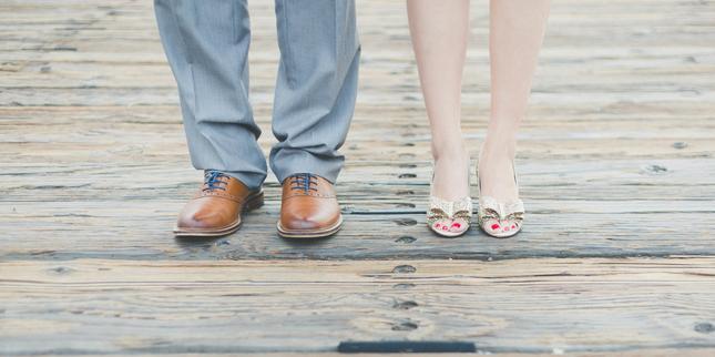 обувки мъж и жена