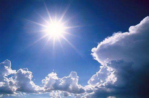 слънце и небе