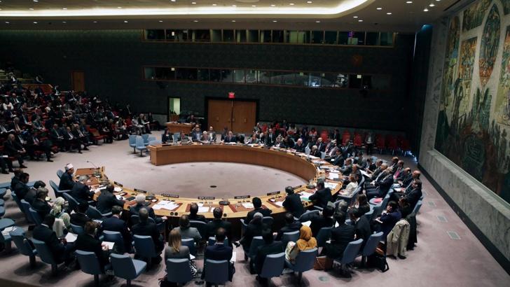 съвет за сигурност ООН