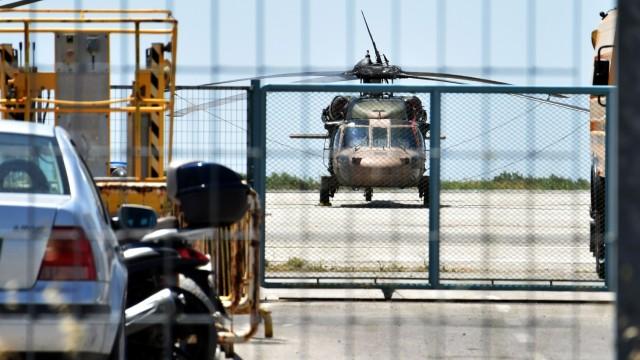 турски хеликоптер преврат