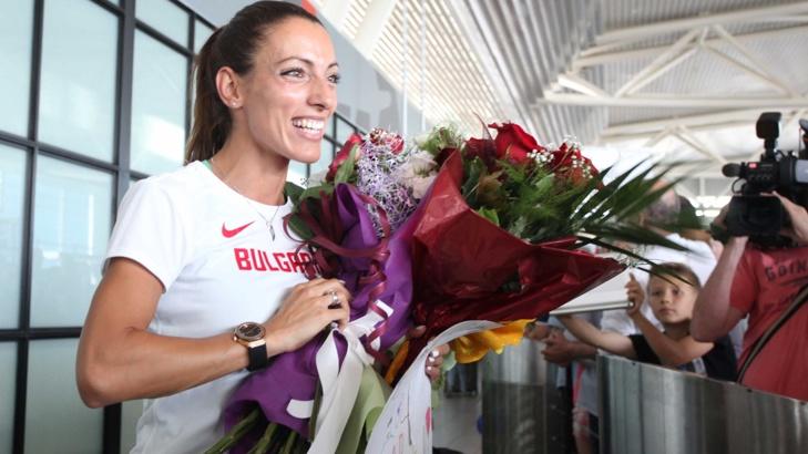 Ивет Лалова е знаменосецът на българската делегация спортисти в Рио