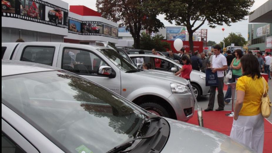 изложбата Автосвят в Пловдив