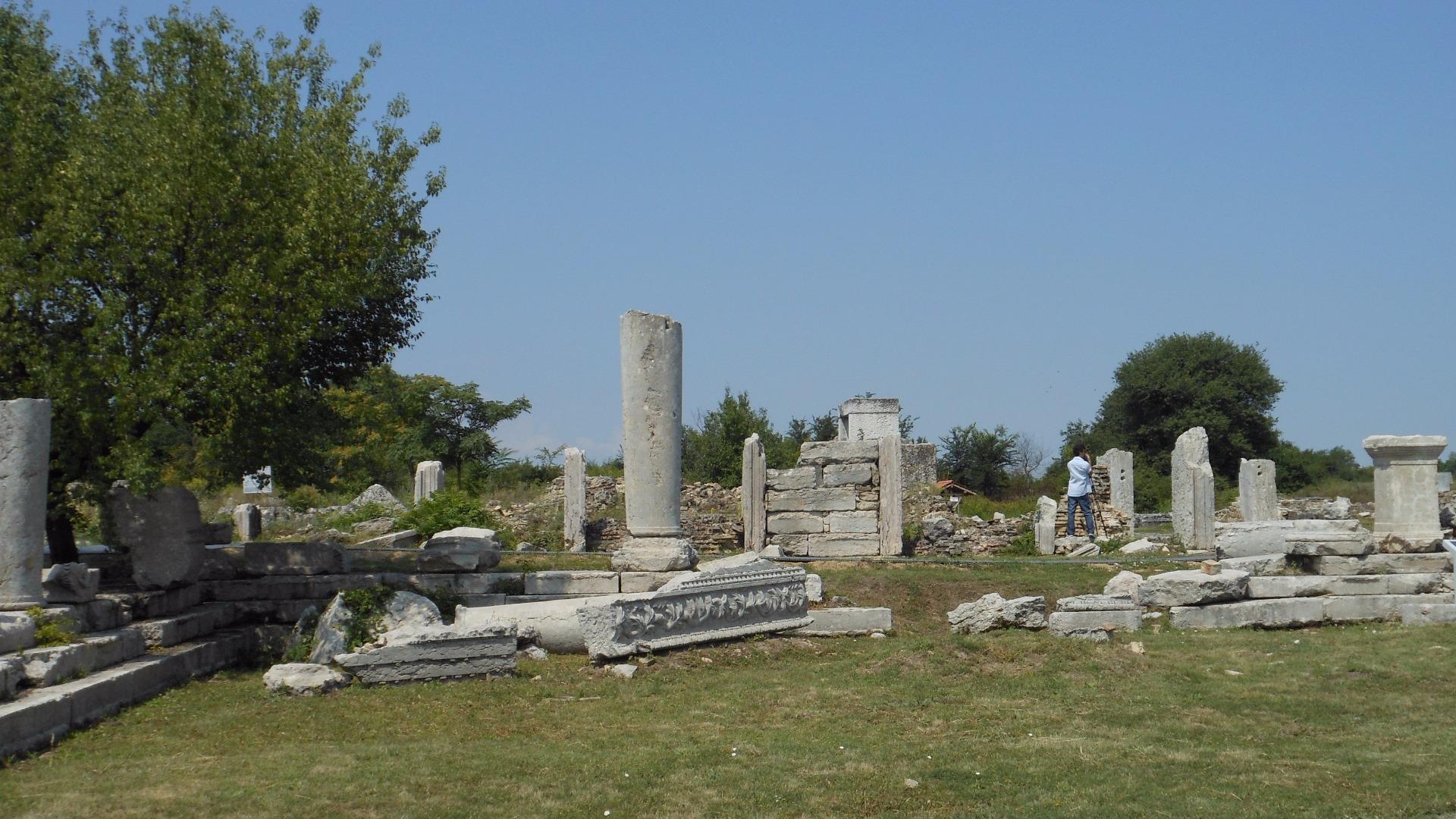 разкопки В.Търново