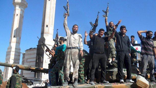 сирийски бунтовници