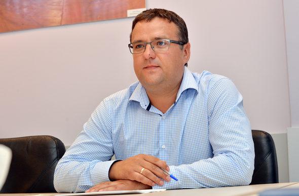 Едвинас Волкас, Главен изпълнителен директор на Максима България, фотограф Надежда Чипева