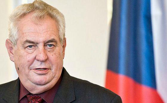 Президентът на Чехия Милош Земан