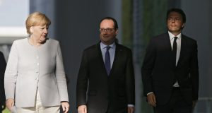 Ренци, Мелкел и Оланд