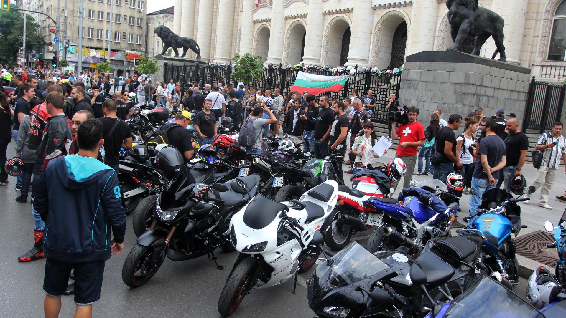 мотористи протест 1