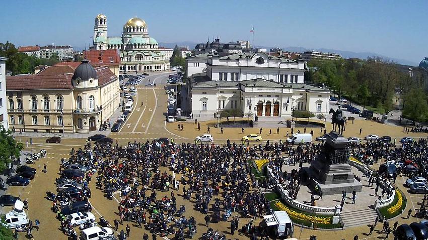 мотористи протест