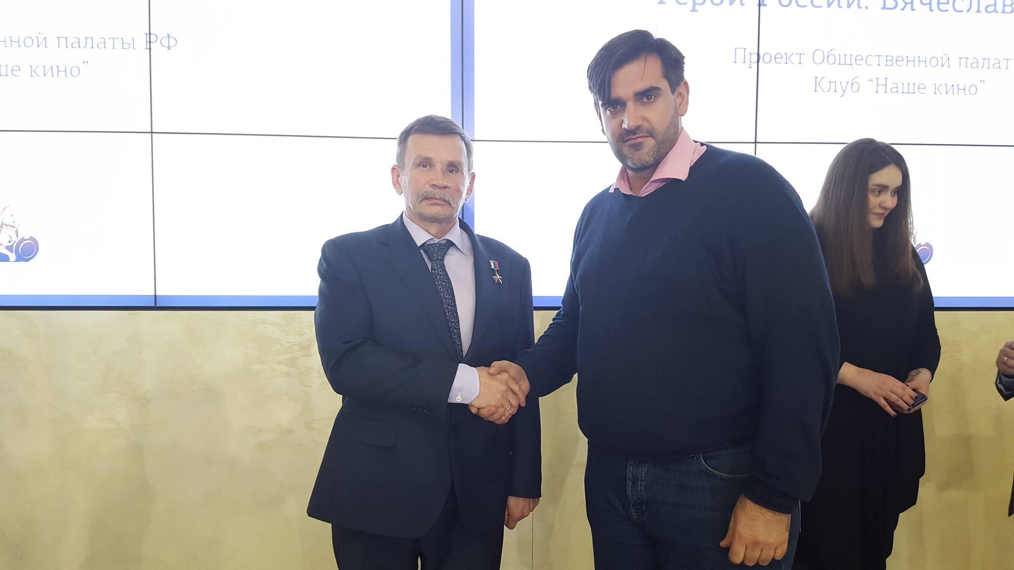 Бочаров Вячеслав Алексеевич и Борис Анзов